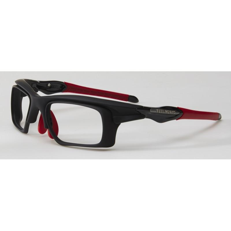 STY MS-047 Black/Red + Lentes fotocromáticas graduadas