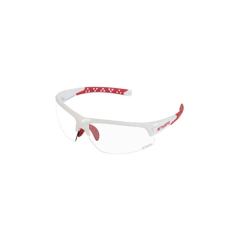 06 white/red S + lentes fotocromaticas graduadas