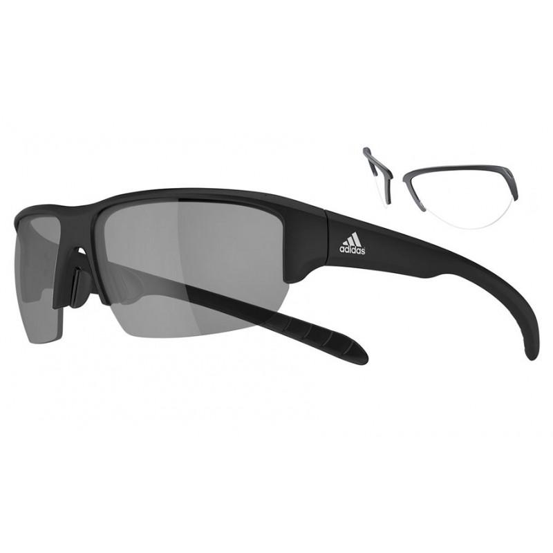 Adidas Kumacross Halfrim sports glasses + RX adapters