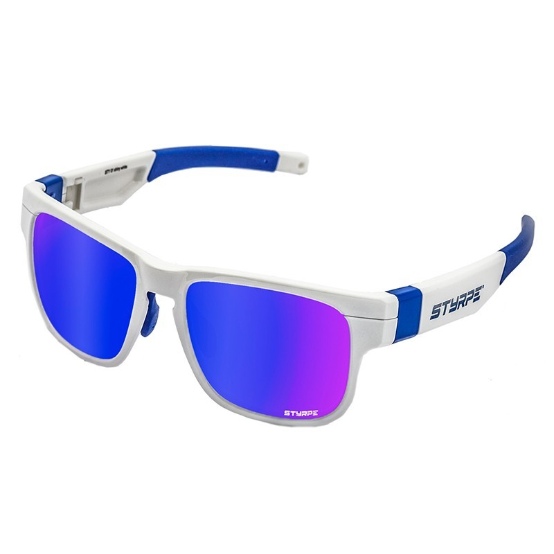 Sport Sunglasses STYRPE White/Blue