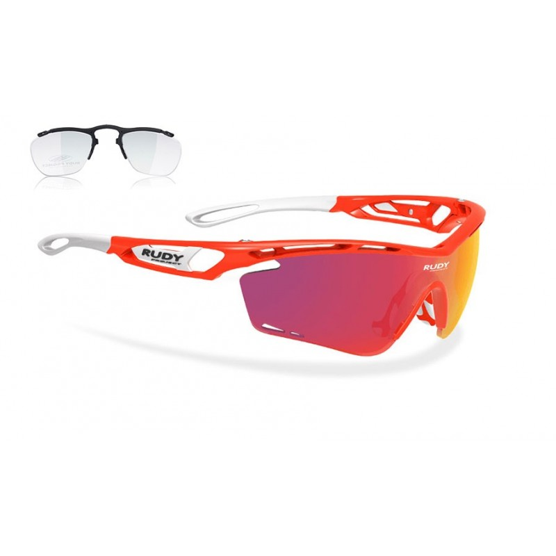 sport sunglasses Rudy project Tralyx + optical clip