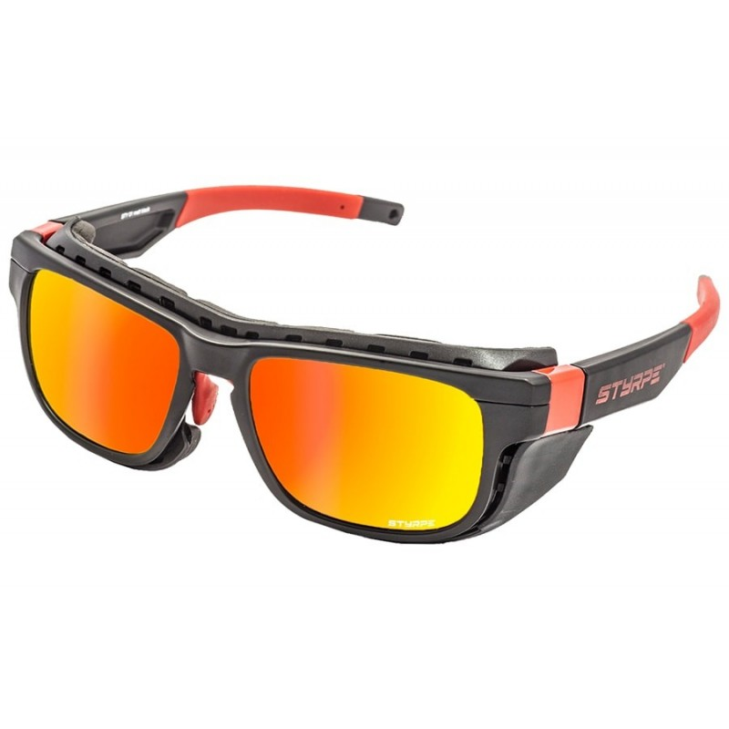 Sport Sunglasses Styrpe Sty 01 Black / Red graduated