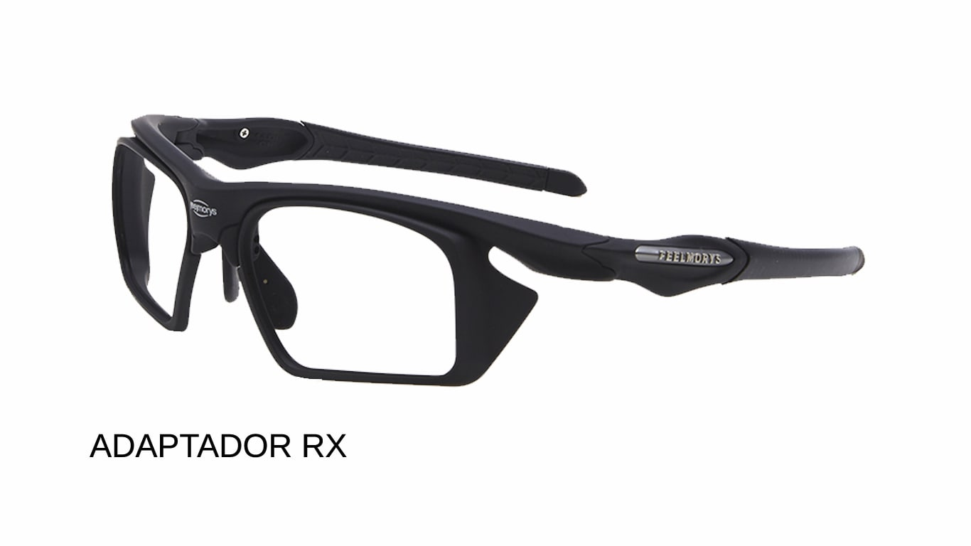 24f3b1924a Imagen para ver las gafas deportivas feelmorys graduadas con adaptadores RX.