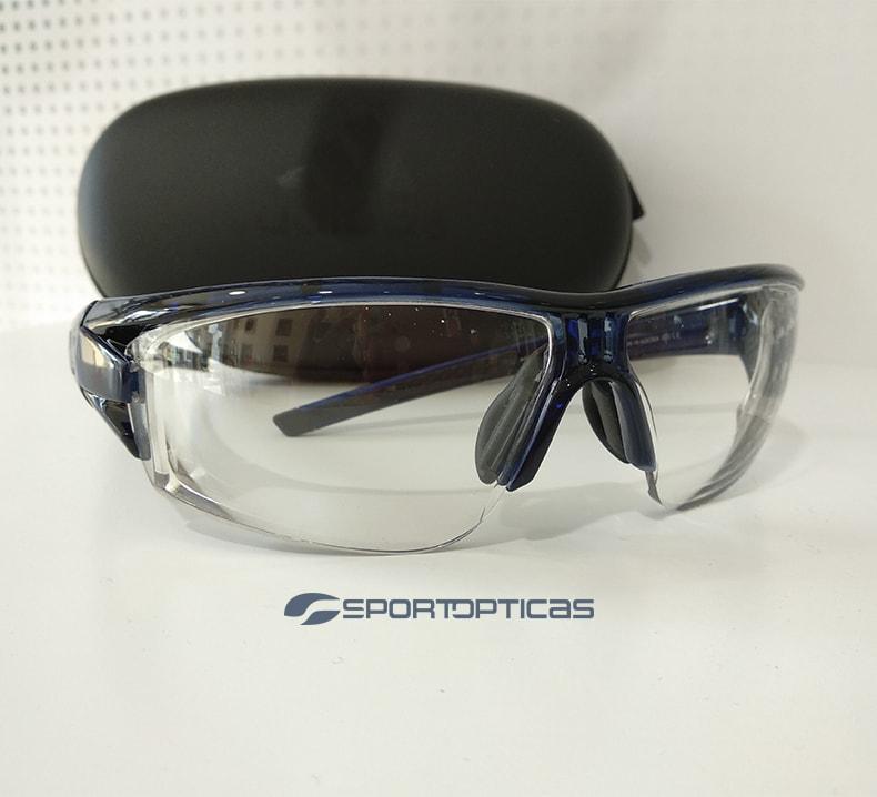 Ejemplo Adidas Evil Eye Halfrim pro graduada con lentes fotocromáticas.
