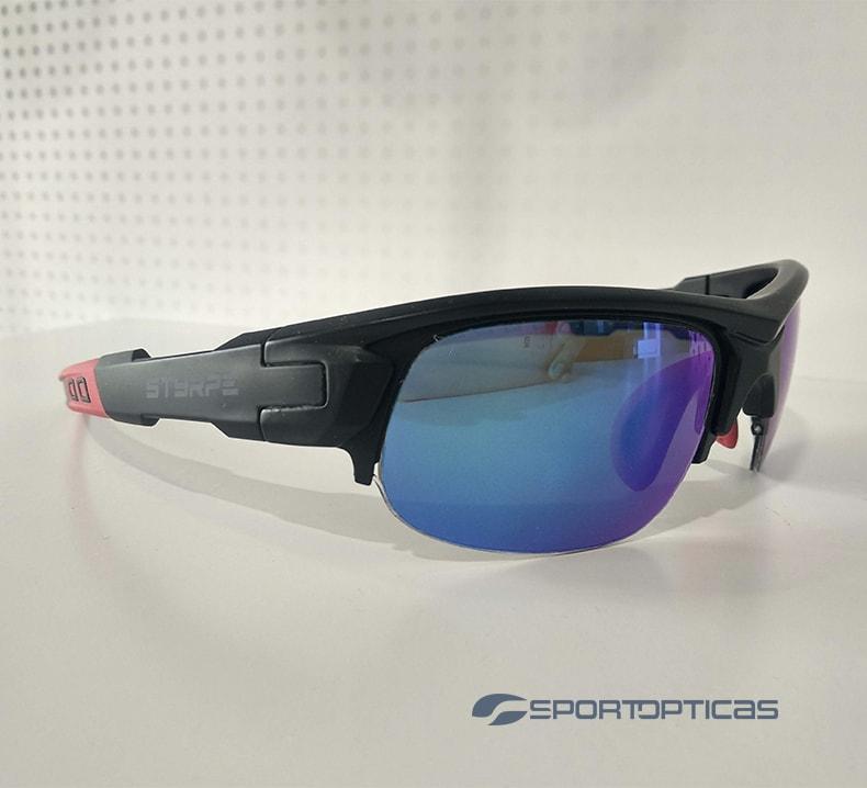 Ejemplo Styrpe Sty 03 Black/Blue graduada con lentes blue revo.