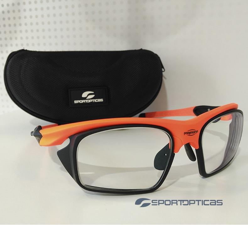 EjemploFeelMorys MS-049 Orange graduada con lentes fotocromáticas.