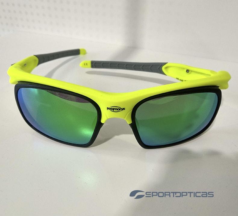 Ejemplo FeelMorys MS-049 Green/Grey graduada con lentes green.