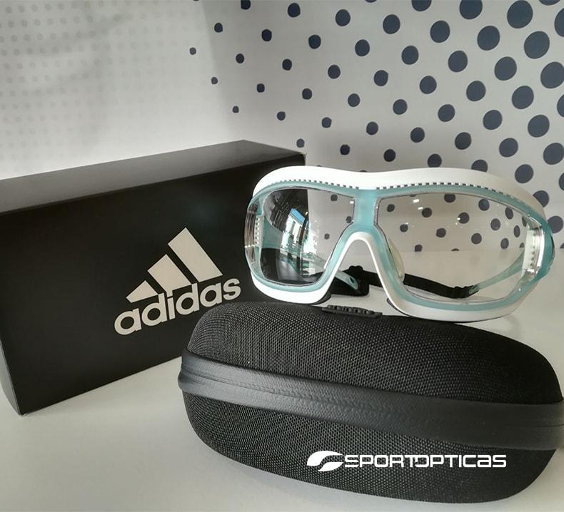 Ejemplo Adidas Tycane Pro Outdoor graduadas con lentes fotocromáticas.