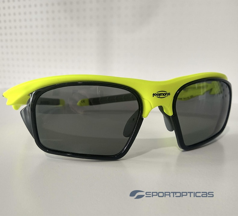 Ejemplo FeelMorys MS-049 Fluor/Grey graduada con lentes Smoke Cat 3