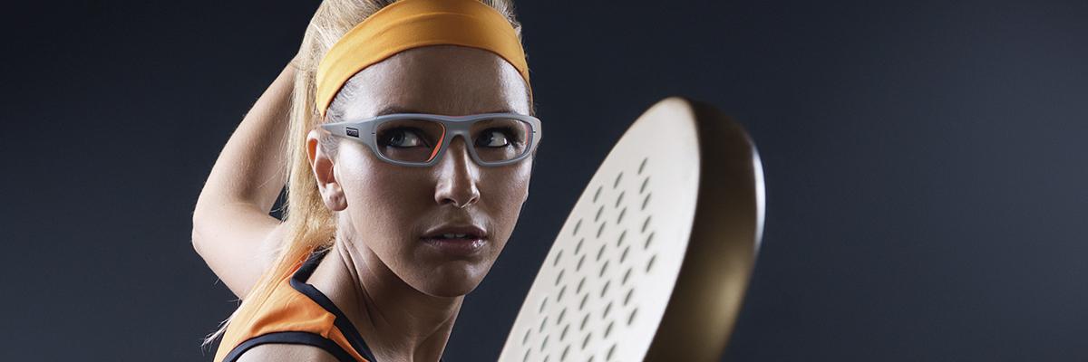 Banner gafas deportivas graduadas para pádel y tenis
