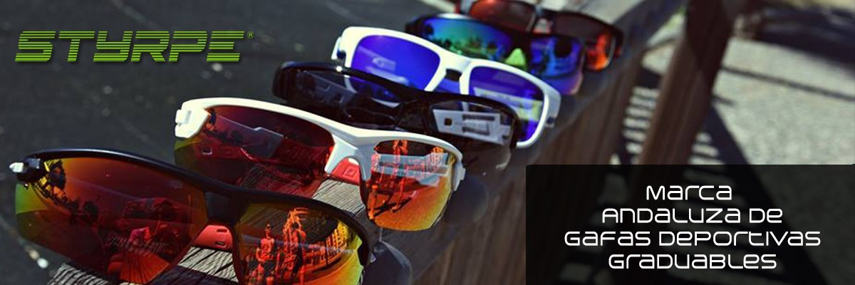 Styrpe, Andalusian brand of sports glasses