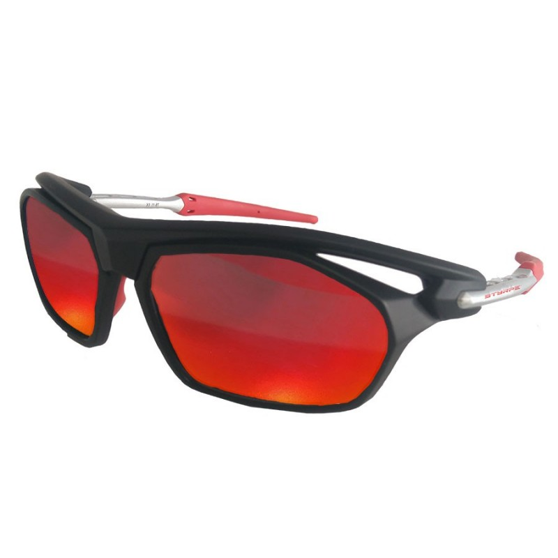 Sty 04 Black/Red + Adaptadores RX