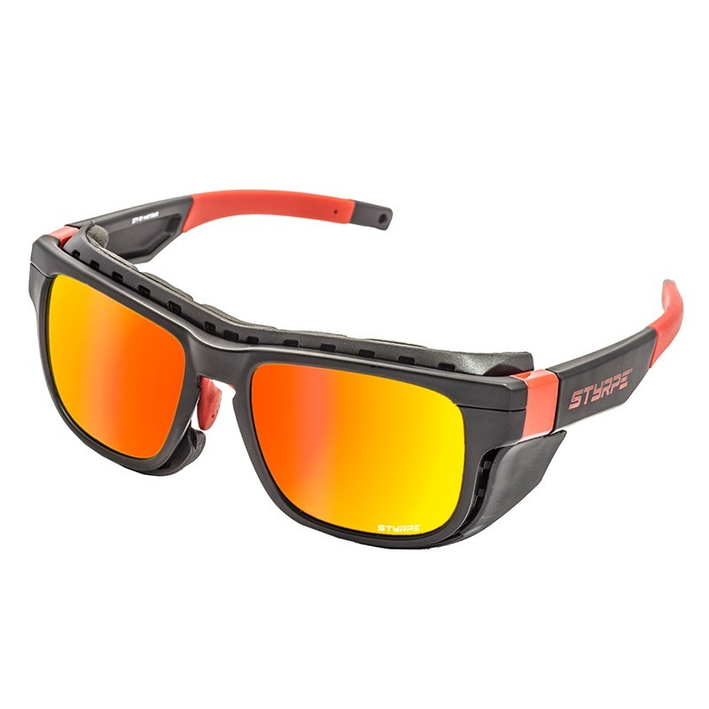Sport Sunglasses Sty 01 Black/Red