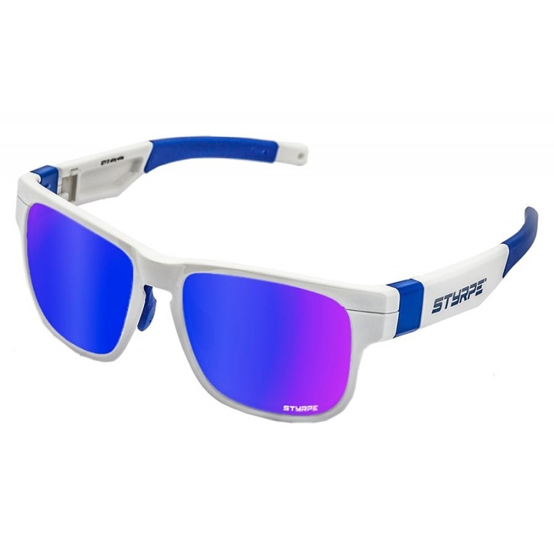 Sport Sunglasses Styrpe Sty 01 White/Blue graduated