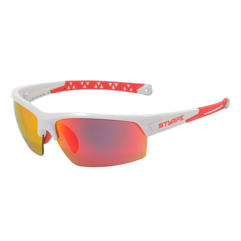 Sport glass STY 06 White/Red M.Fiz