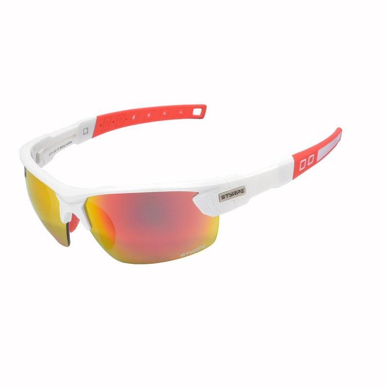 Sport sunglasses STY 03 White direct graduation