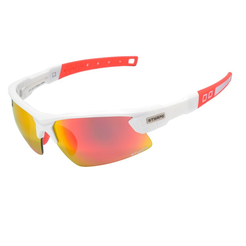 Sport Glass STYRPE 03 white