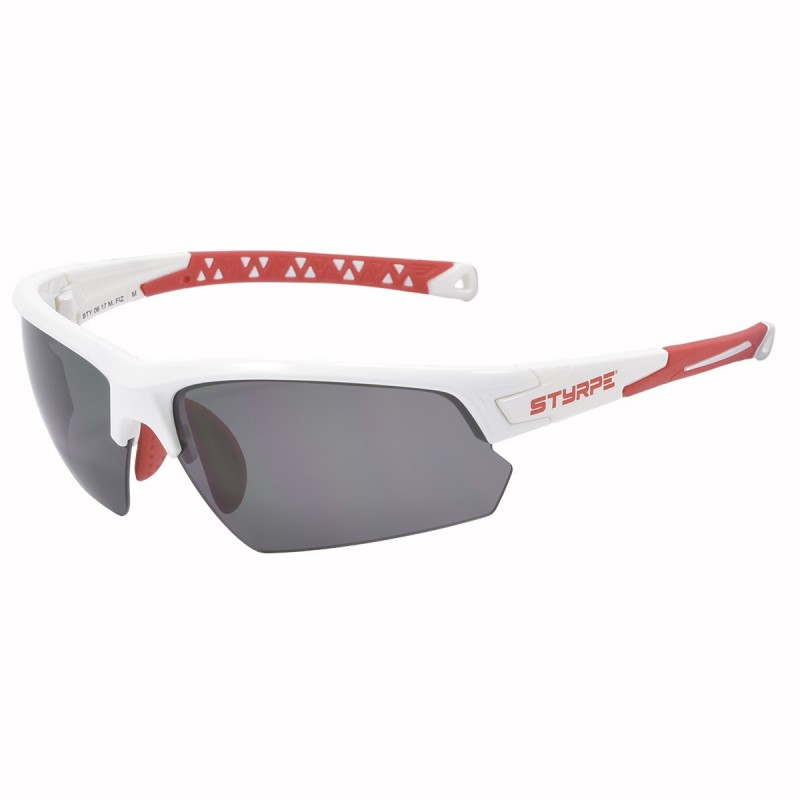 Prescription Sport glass STY 06 White/Red M.Fiz