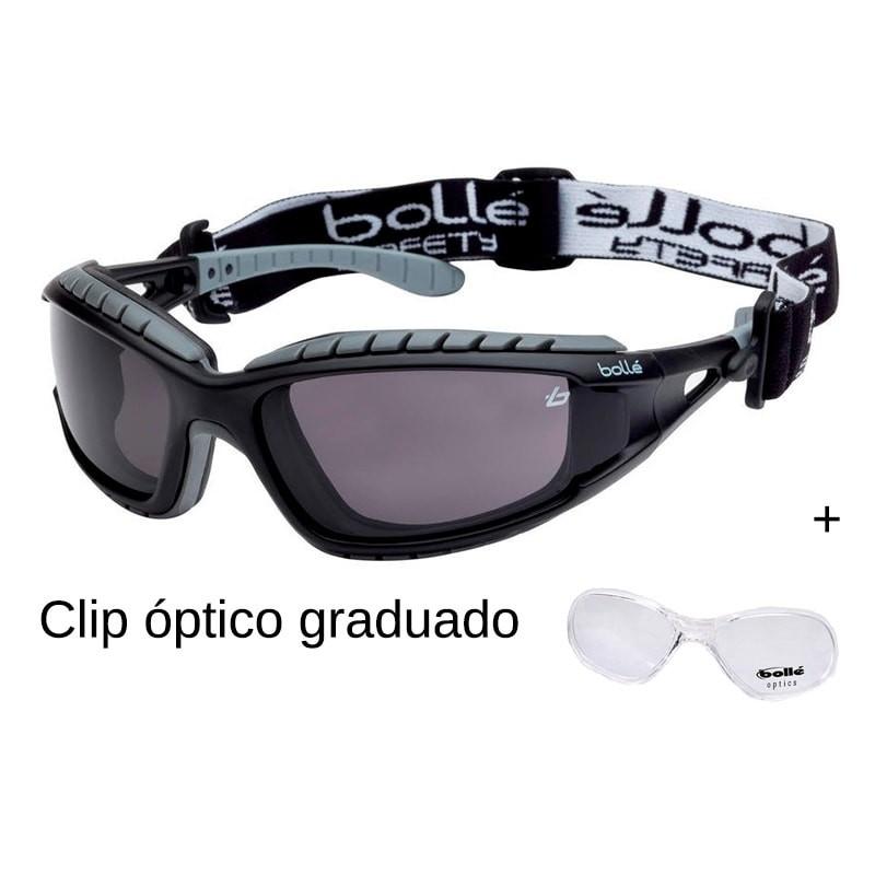 Bollé Protección + clip óptico
