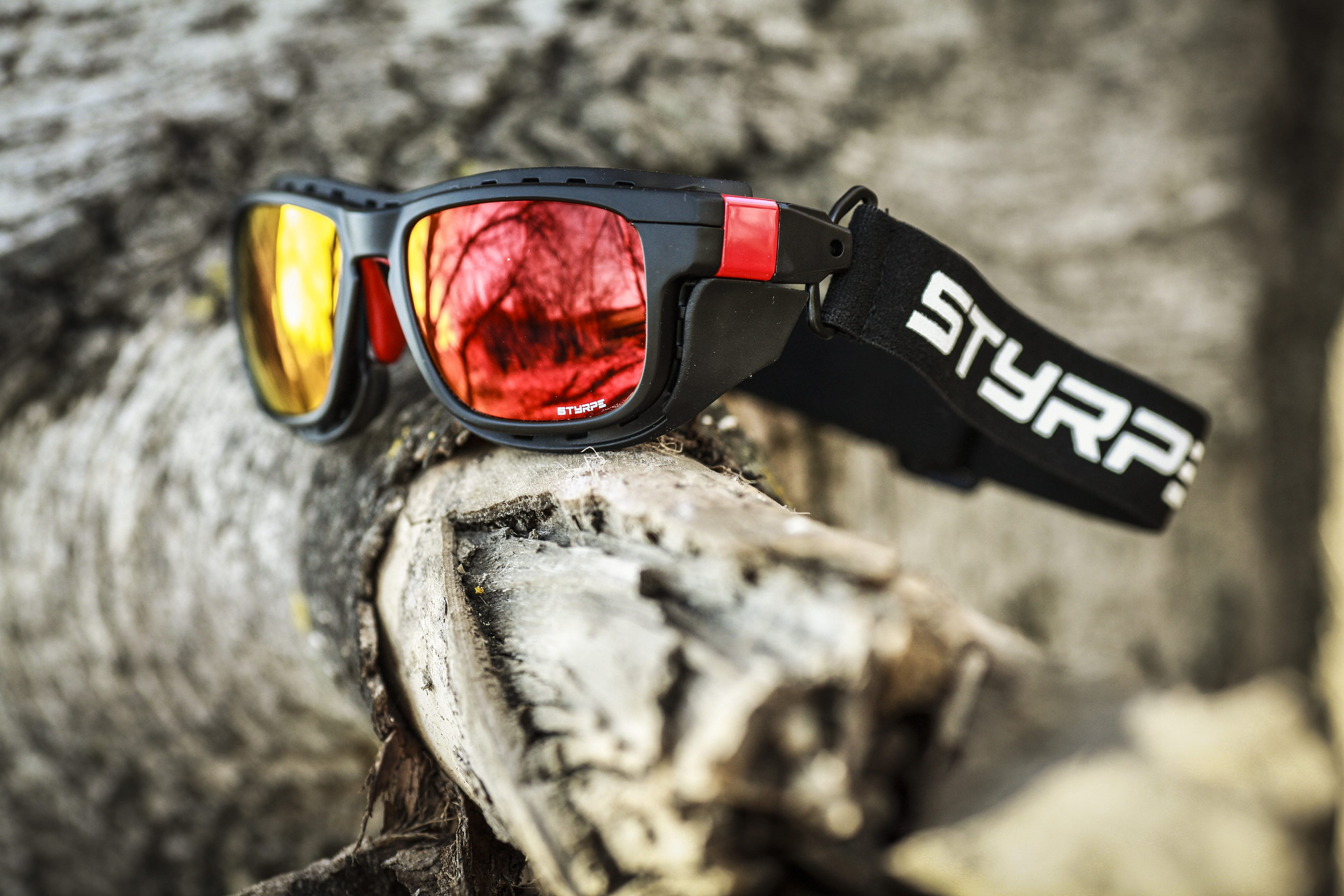 Styrpe Sty 01 Black/Red