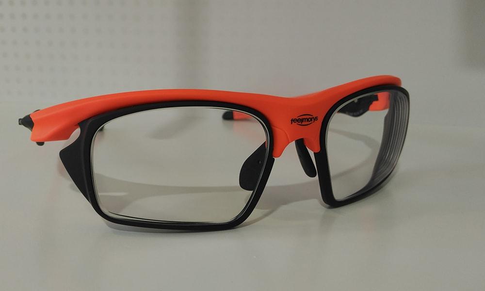 Sty 049 Orange, graduada con adaptadores Rx, lentes fotocrom