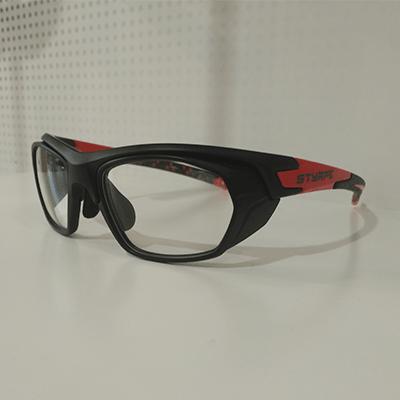 06 Black/Red+ adaptadores rx graduados