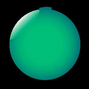Espejado verde