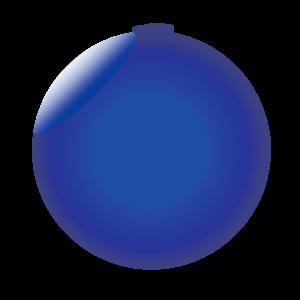 Espejado azul